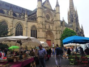 Flea Market, St-Michel, Bordeaux, France